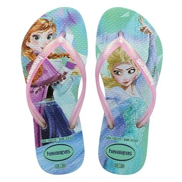 Havaianas Kids Slim Frozen Ice Blue