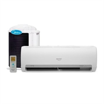 Ar Condicionado Split Hi Wall On Off Springer Midea 22000 Btus Frio  1F 42MACA22S5